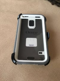 Gray and white Otter box case for a Samsung s5. Calgary