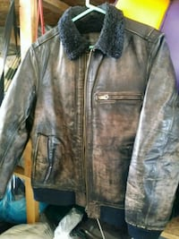 Vintage leather coat extra large good condition Citrus Heights, 95621