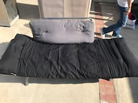 black and gray bed sheet La Mirada, 90638