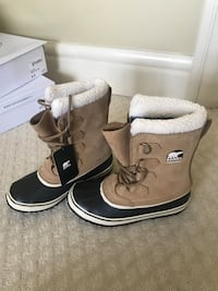 pair of brown UGG Bailey Button boots Edmonton, T6R 0R2