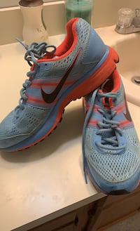 Nike running shoes - light blue is women's 9. Price negotiable! Mount Laurel, 08054