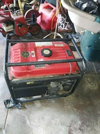 red and black portable generator Los Angeles, 90037