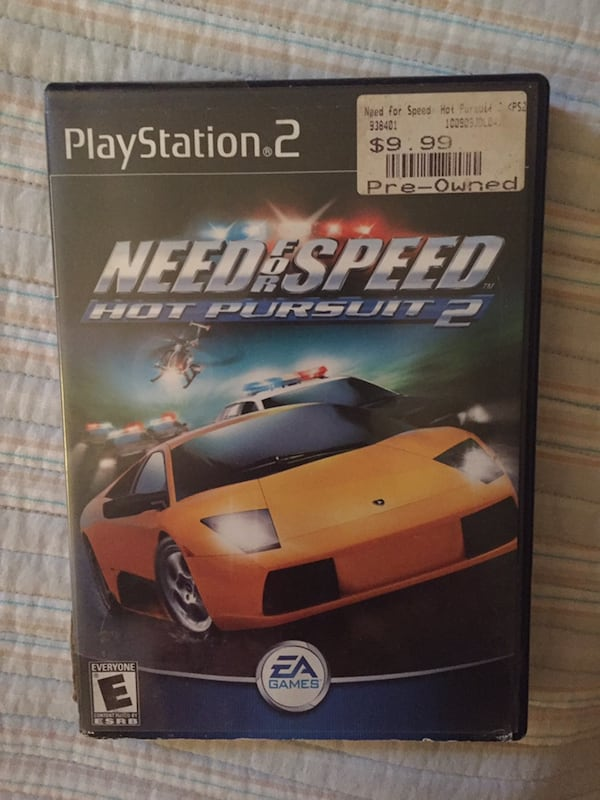 Sold Need For Speed Hot Pursuit 2 For Ps2 In Webster Letgo