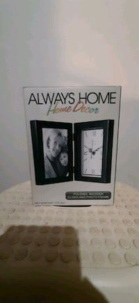 Always Home Home Decor Wooden Clock and Frame Centreville, 20121