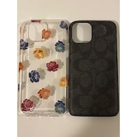 TWO BRAND NEW COACH IPHONE 11PRO CASES Shelton, 06484