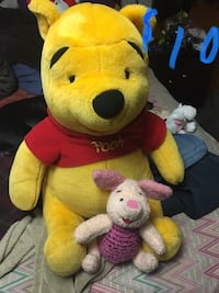 yellow and red bear plush toy Springfield, 65807