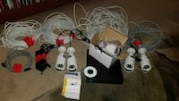 Security cameras 1080P Day night vision