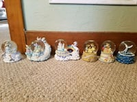 Assorted Collectible Snow Globes Saginaw, 48602