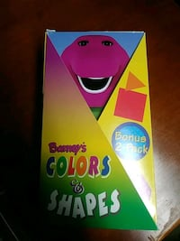 Barney's colors and shapes vhs Baltimore
