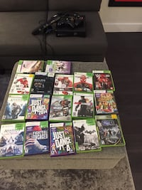 Xbox 360.Camera.19 Games (price is negotiable) Westmount, H3Z 1J2