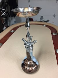 Brand new brass and glass hookah Langley, V2Y 3E1