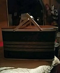 black and brown wooden chest 461 mi