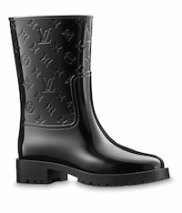 Louis Vuitton Drops Flat Half Boot 39