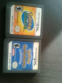 two Nintendo DS game cartridges Toronto, M2N 7A1