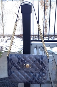 Authentic LIKE NEW Marc Jacobs Python Chain Shoulder Bag Purse.