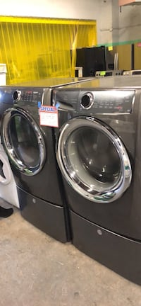 Electrolux front load washer and dryer set with pedestal Baltimore, 21223