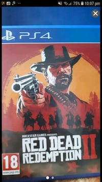 Brand new red dead redemption 2 ps4 Greater London, TW3 4LU