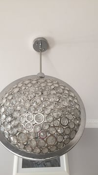 Gray and white pendant lamp Mississauga, L5W 1S9