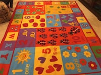 black and red area rug Charles Town, 25414