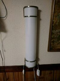 Wall lamp whis rheostat