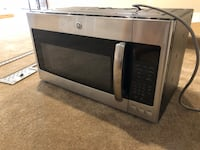 Stainless GE Over Range Microwave with mounting plate Leesburg, 20175