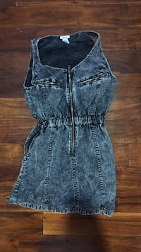 Small denim dress