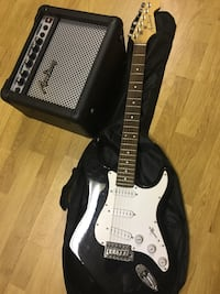 Guitar and amplified Pickering, L1V