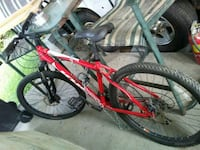 red and black hardtail mountain bike Clinton, 37716