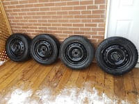 Like new. 4x112 winter tires