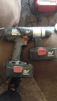 Black and gray cordless hand drill Riverside, 92507