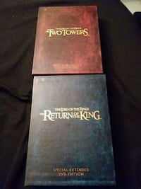 Lord of the Rings DVD Set Churchville, 21028