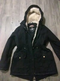 Women's black winter jacket Edmonton, T6J