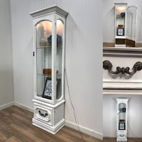 White curio cabinet  Canby, 97013