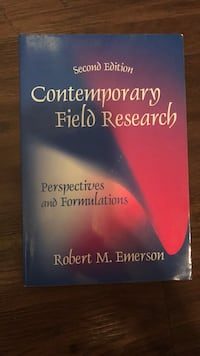 Field Research manual Rockville, 20850