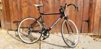 black and white schwinn road bike 2287 mi