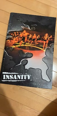 Insanity workout dvds Vaughan, L4H 0N8
