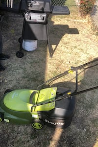 Lawnmower and char -boil gas grill