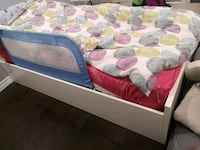 Single bed frame and matress