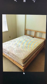 Full IKEA Real Wood Frame Bed, will Deliver ! Washington