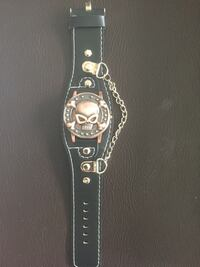 Leather Skull watch Gatineau, J8P 7Y2