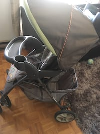baby's gray and black stroller Montréal, H1Z 2N9
