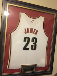white and red Chicago Bulls 23 jersey shirt Fremont, 94536