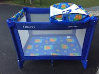 blue and green Graco pack n play Clifton Park, 12065