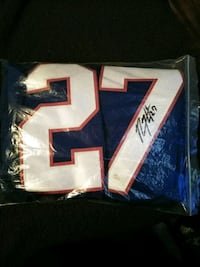 Autographed Jersey Pawtucket, 02860