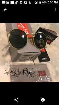 Ray-Ban Gold ROUND METAL G-15 RB3447 Sunglasses  Honolulu, 96819