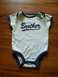 "Carter's ""Little Brother"" onesie"