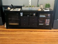 TV stand with shelves Medford, 02155