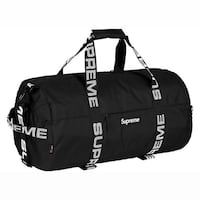 Supreme Duffel with Receipt from Supreme New York Brampton, L6Y 2G9