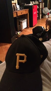 black and yellow P embroidered cap Winnipeg, R2M