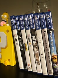 PS4 Games sale or trade for switch / PS4 games Mississauga, L4Z 2M5